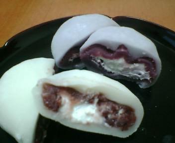 mochicream小豆と紅芋